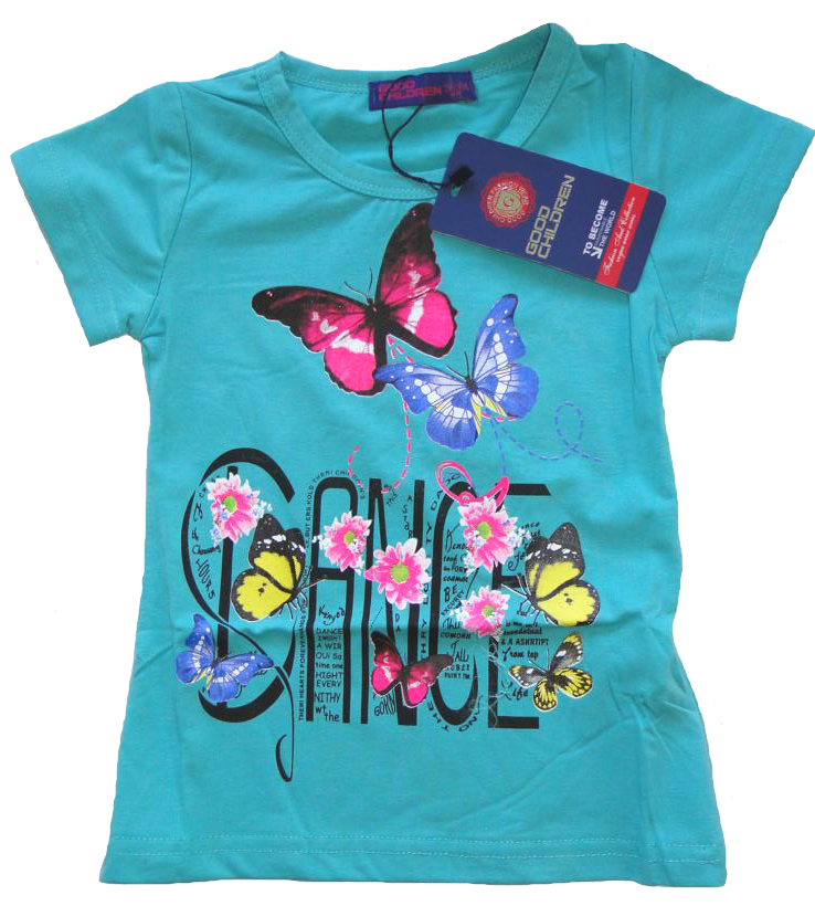t shirt schmetterling f r m dchen dance g nstige kindermode. Black Bedroom Furniture Sets. Home Design Ideas