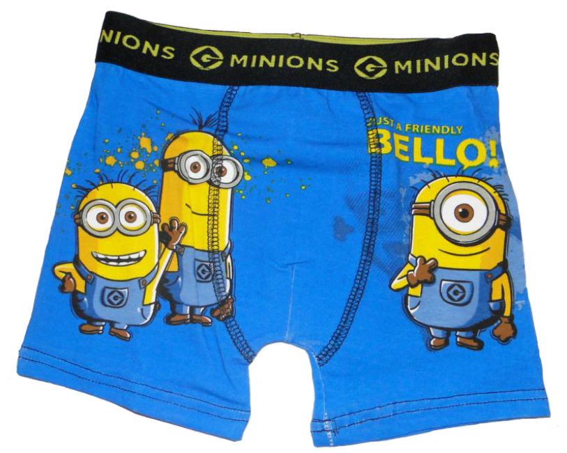 minions boxershorts jungen unterhose kinder g nstige. Black Bedroom Furniture Sets. Home Design Ideas