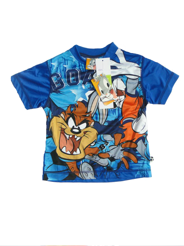 t shirt looney tunes tasmanischer teufel taz g nstige kindermode. Black Bedroom Furniture Sets. Home Design Ideas