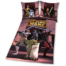 star wars the clone wars bettw sche yoda herding. Black Bedroom Furniture Sets. Home Design Ideas