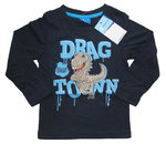Drachen Kinder Langarmshirt Drag on Town
