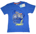 Jungen TShirt Bike Burn the Wheels