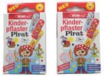 Figo Kinderpflaster 2'er Set Piraten Motiv